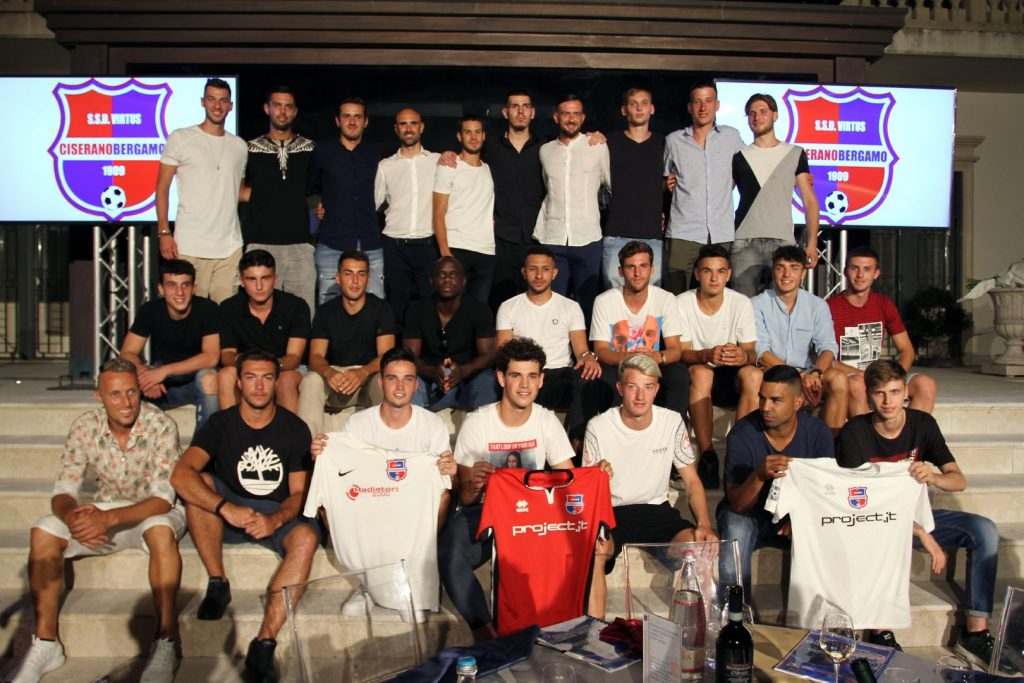 A Pontirolo Nuovo presentata la nuova Prima squadra Virtus CiseranoBergamo