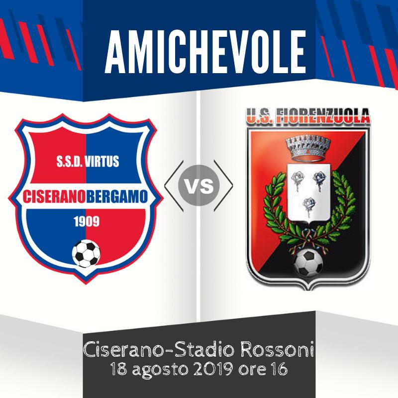 Ultimo test a Ciserano prima della Coppa Italia: alle 16 ospite il Fiorenzuola