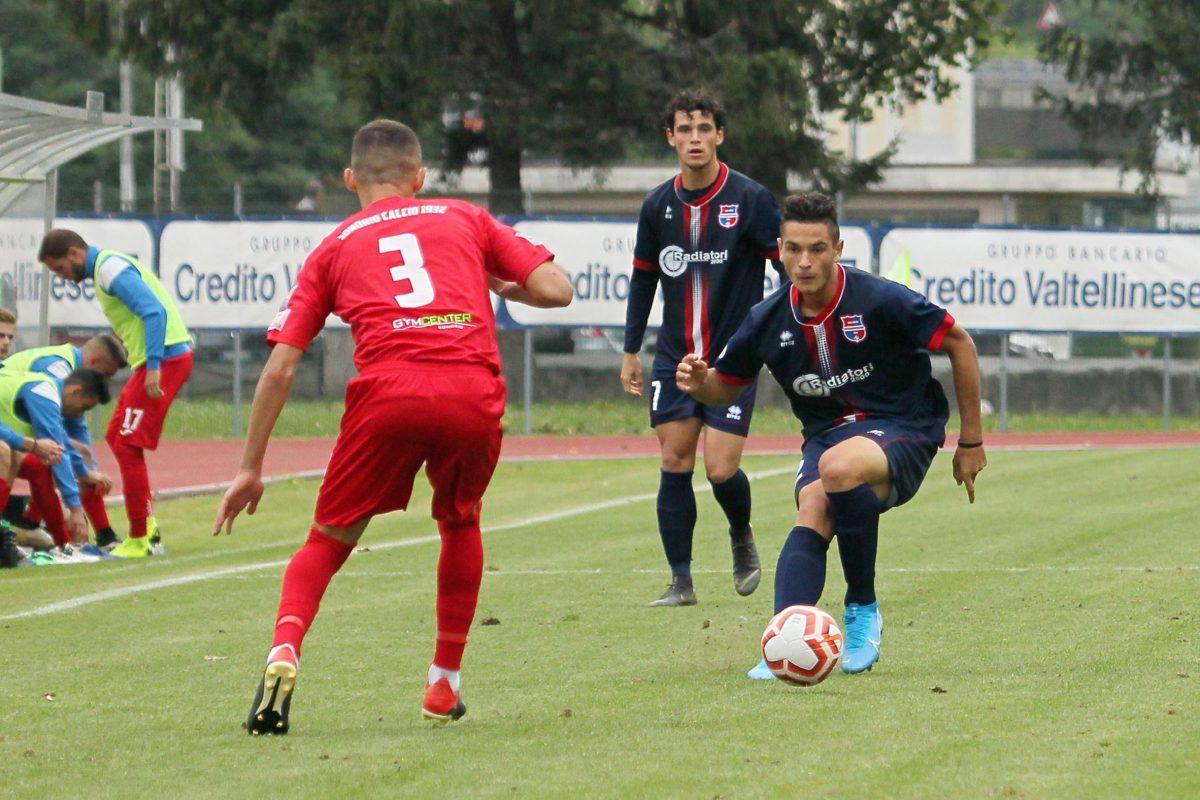 Sondrio-Virtus CiseranoBergamo (1-0), le immagini del match