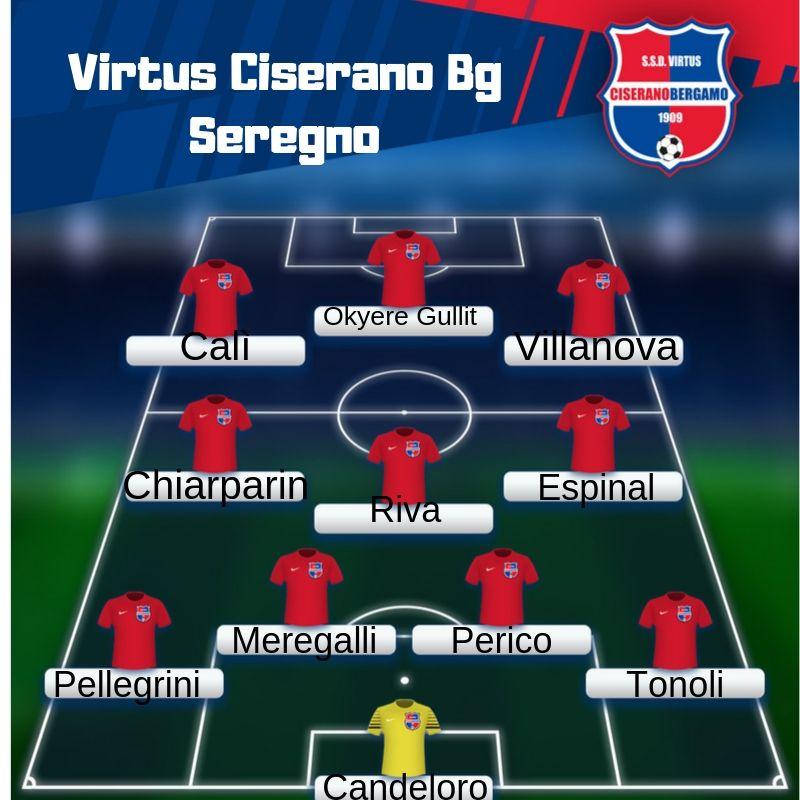 Segui il live di Virtus Ciserano Bergamo-Seregno (risultato finale 3-2): Espinal gooooooooooooool rossoblù a 2 dal termine