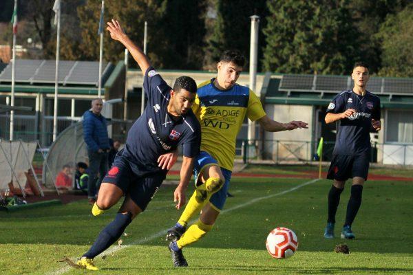 Virtus Ciserano Bergamo-Levico Terme 1-0: le immagini del match