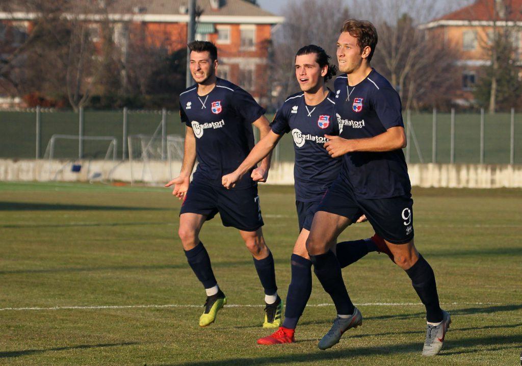 VIDEO E PHOTOGALLERY: Primo successo nel 2020 per la Virtus Ciserano Bergamo. Ad Inveruno a segno Villanova, Vigolo e Riva