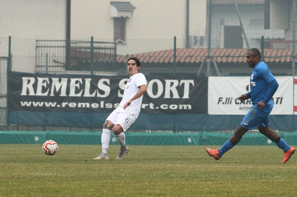 Beffa nel finale per la Virtus Ciserano Bergamo. Al gol di Vigolo risponde Canalini: termina 1-1 con il Ponte San Pietro