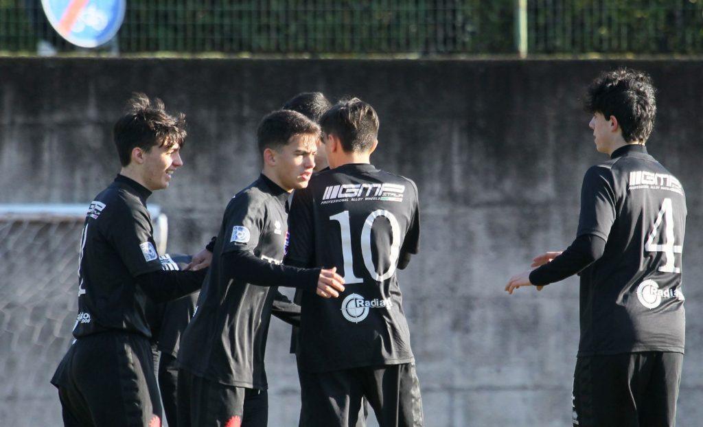 Ravasio e Manzi dell'Under 15 Virtus Ciserano Bergamo in campo con la Rappresentativa Regionale
