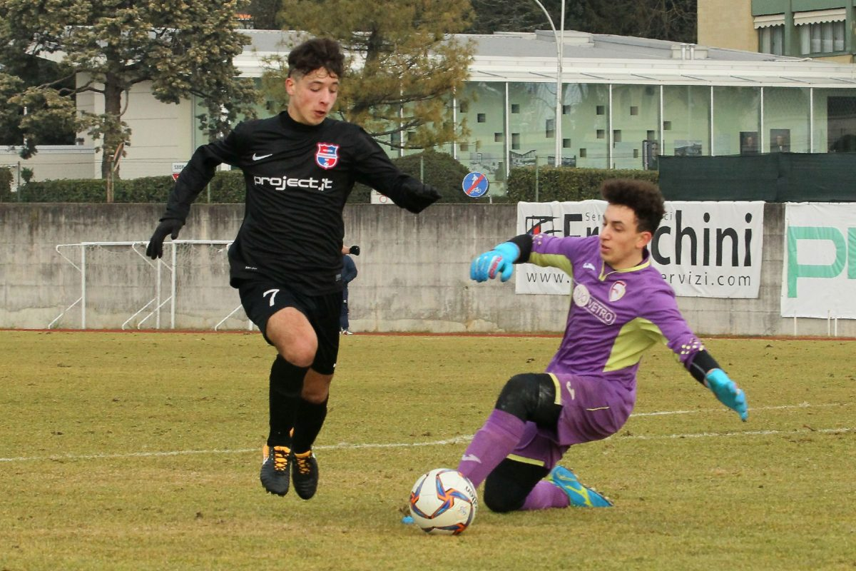 Allievi Under 17 Elite Virtus Ciserano Bergamo-Sporting Franciacorta (8-0): le immagini del match