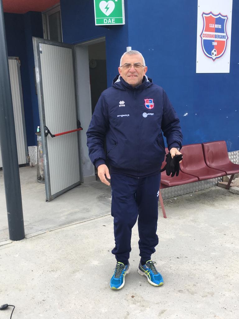 Virtus Ciserano Bergamo in lutto: ci ha lasciato Paolo Albergati, collaboratore del settore giovanile