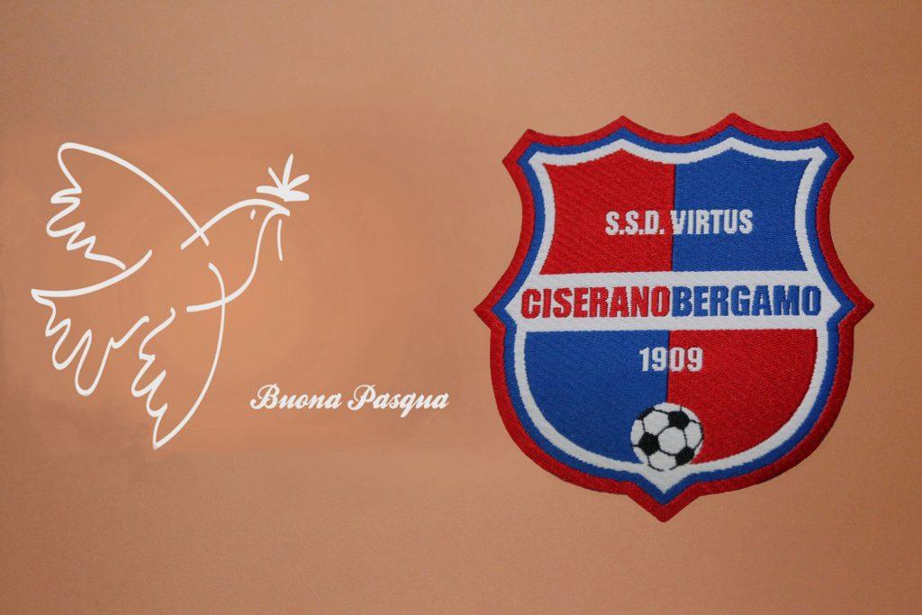 Buona Santa Pasqua da tutta la Virtus Ciserano Bergamo!