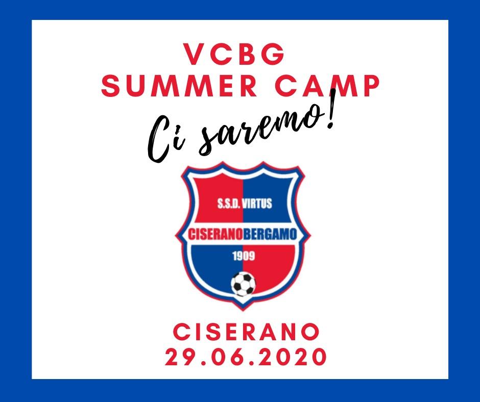 Virtus Ciserano Bergamo Camp al via il 29 giugno! Iscrizioni entro mercoledì 17 giugno