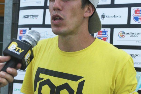Gunther Celli campione di freestyle football in visita al VCBG Summer Camp