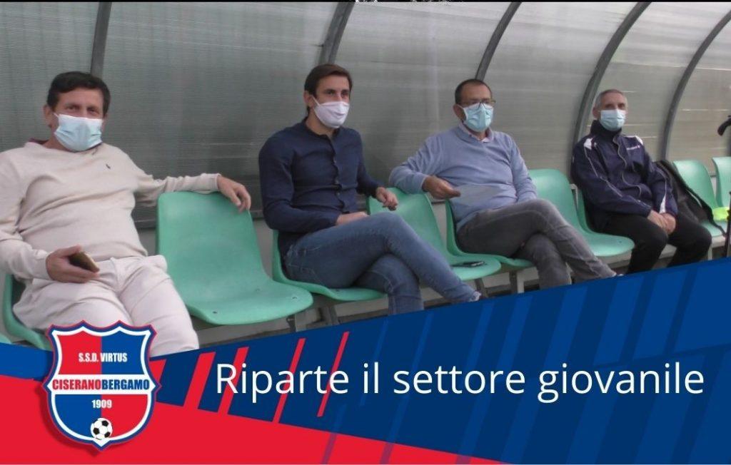 Iniziata la stagione dell'attività agonistica: al Falco di Albino l' Under 17 e l'Under 15 Virtus Ciserano Bergamo