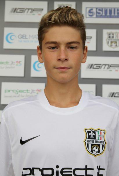 Panchina da Champions League nell'Inter per Nicholas Bonfanti, cresciuto nel settore giovanile bergamasco