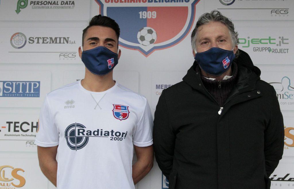 Un nuovo centrocampista per la Virtus Ciserano Bergamo: Samuele Careccia già agli ordini di mister Del Prato