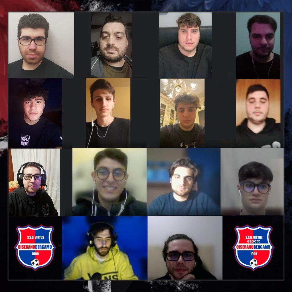 Virtus Ciserano Bergamo E-Serie D: il grande campionato dei giocatori rossoblù di Fifa 2021, 4° in tutta Italia, con il sogno da primato