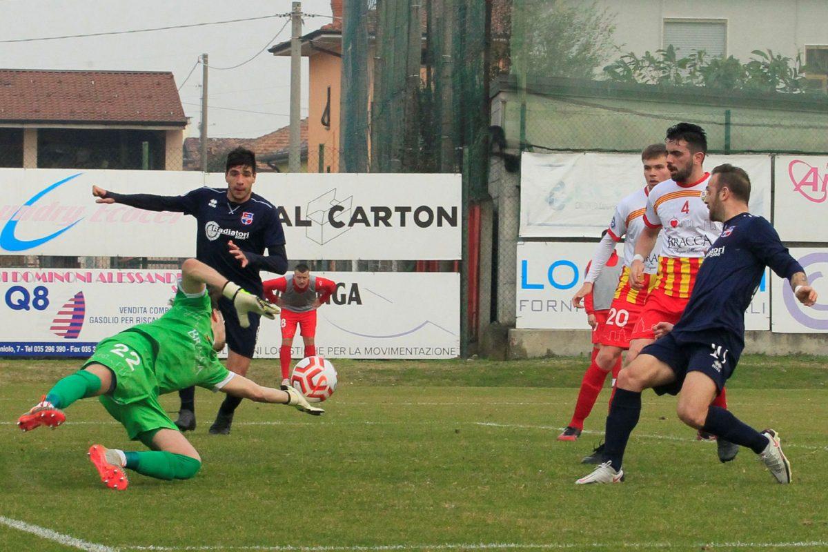 Virtus Ciserano-Vila Valle (1-1): le immagini del match