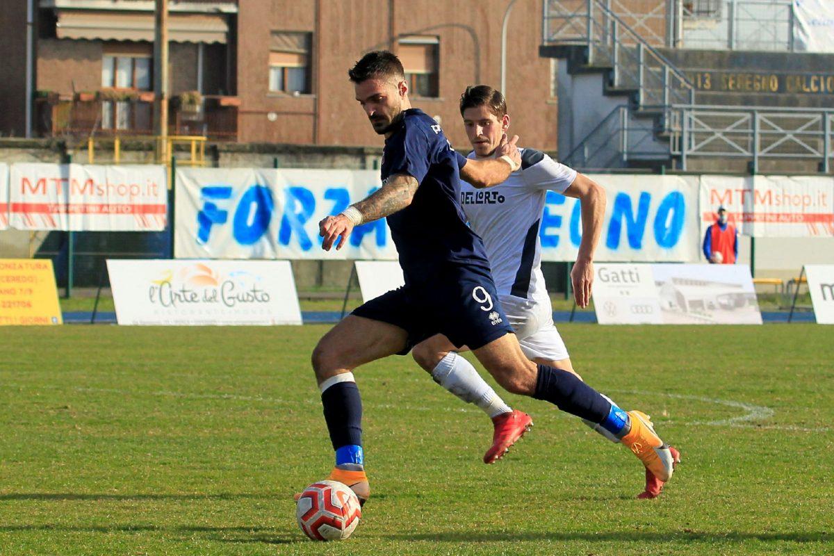 Seregno-Virtus Ciserano Bergamo (1-3): le immagini del match