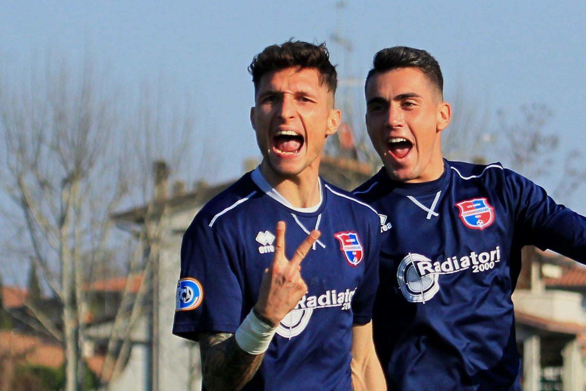 Desenzano Calvina-Virtus Ciserano Bergamo (1-2): le immagini del match