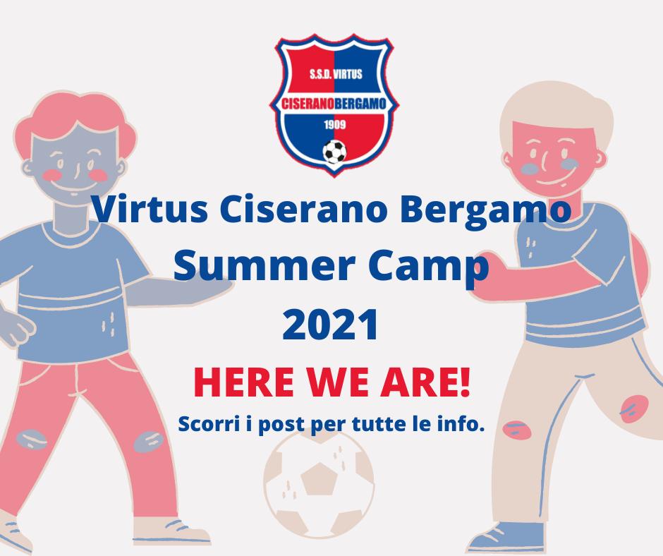 Galleria Torna il VCBG Summer Camp: scarica l'adesione per partecipare all'edizione estiva. Tre settimane di calcio e divertimento con gli allenatori rossoblù!