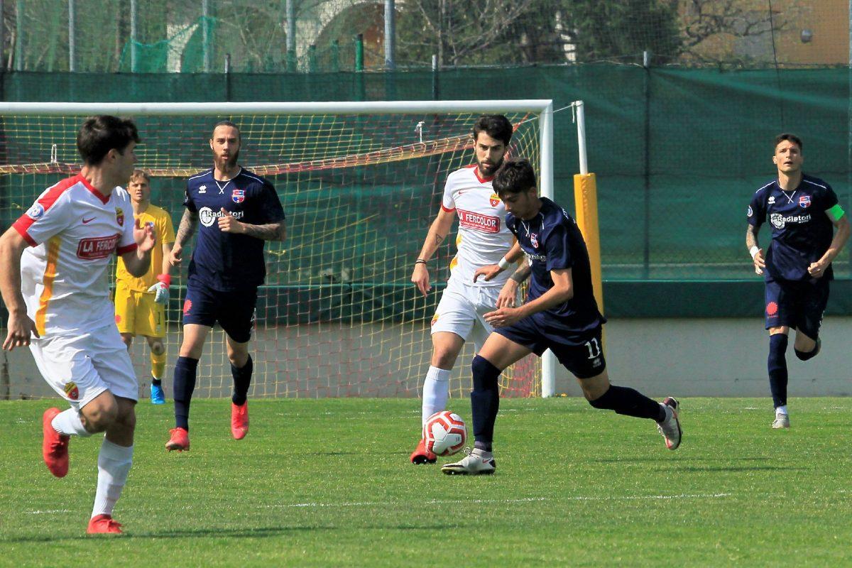Scanzorosciate-Virtus Ciserano Bergamo (0-1): le immagini del match