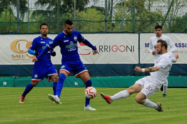 Virtus Ciserano Bergamo-NibionnOggiono (0-2): le immagini del match