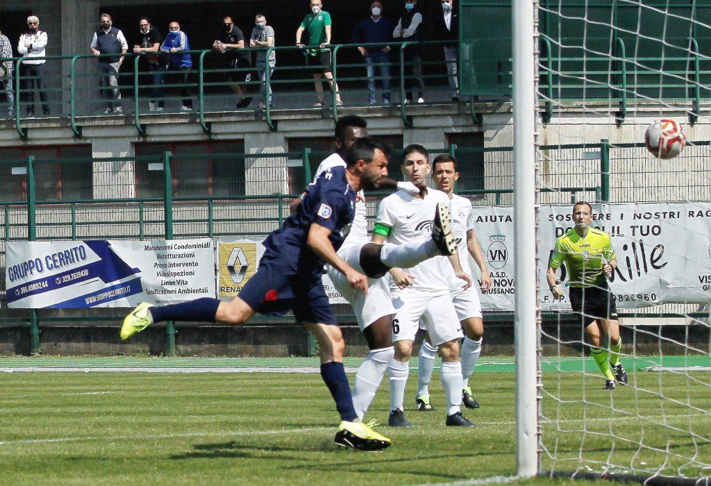 Nel nome di Leonardo. Muchetti e Pozzoni a segno contro la Vis Nova Giussano (2-0): 3 punti fondamentali per la salvezza