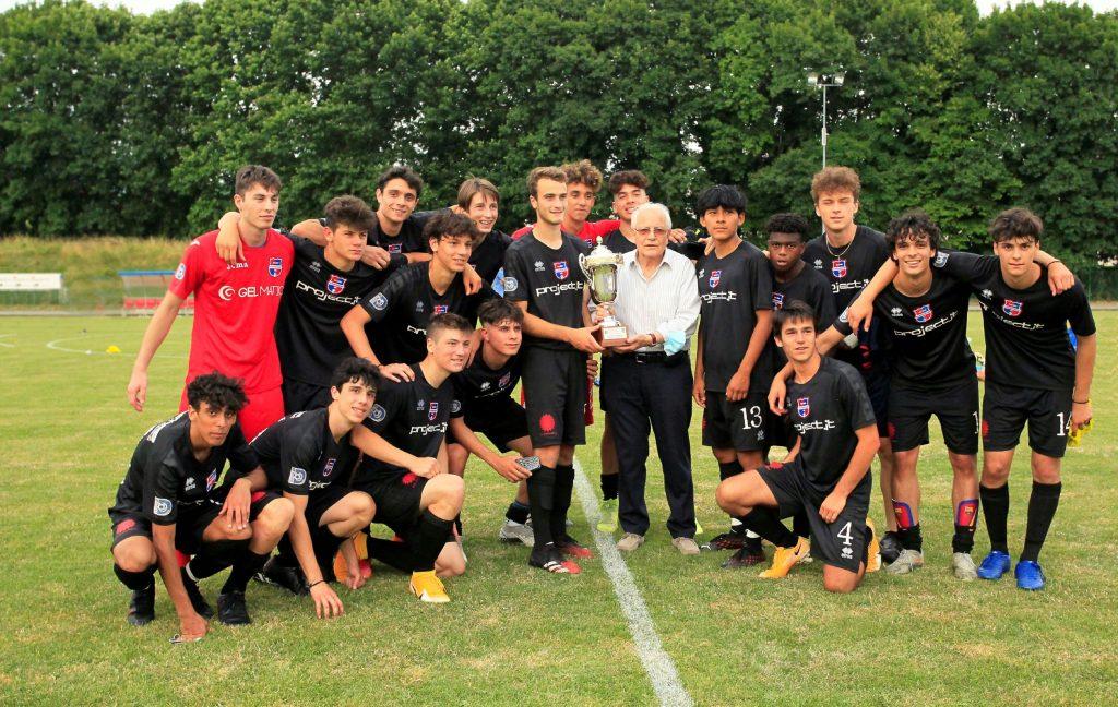 Tripletta di Viscardi per l'ultimo titolo del 2020-2021: all'Under 17 la Supercoppa Cassera