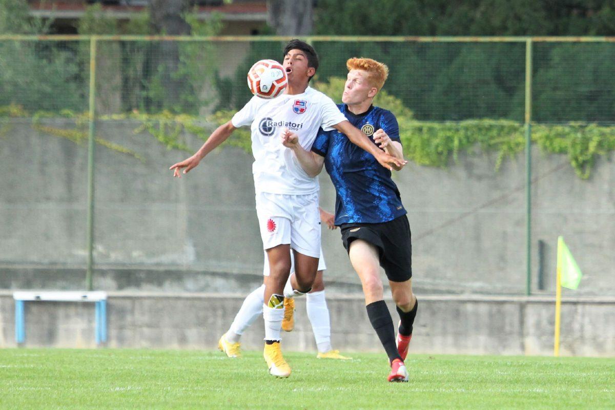 Le immagini del test d'allenamento contro la Primavera dell'Inter