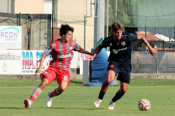 Test d'allenamento Virtus Ciserano Bergamo-Cremonese Primavera (3-0): le immagini del match