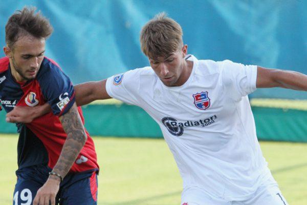 Test d'allenamento Virtus Ciserano Bergamo-Sestri Levante: le immagini del match