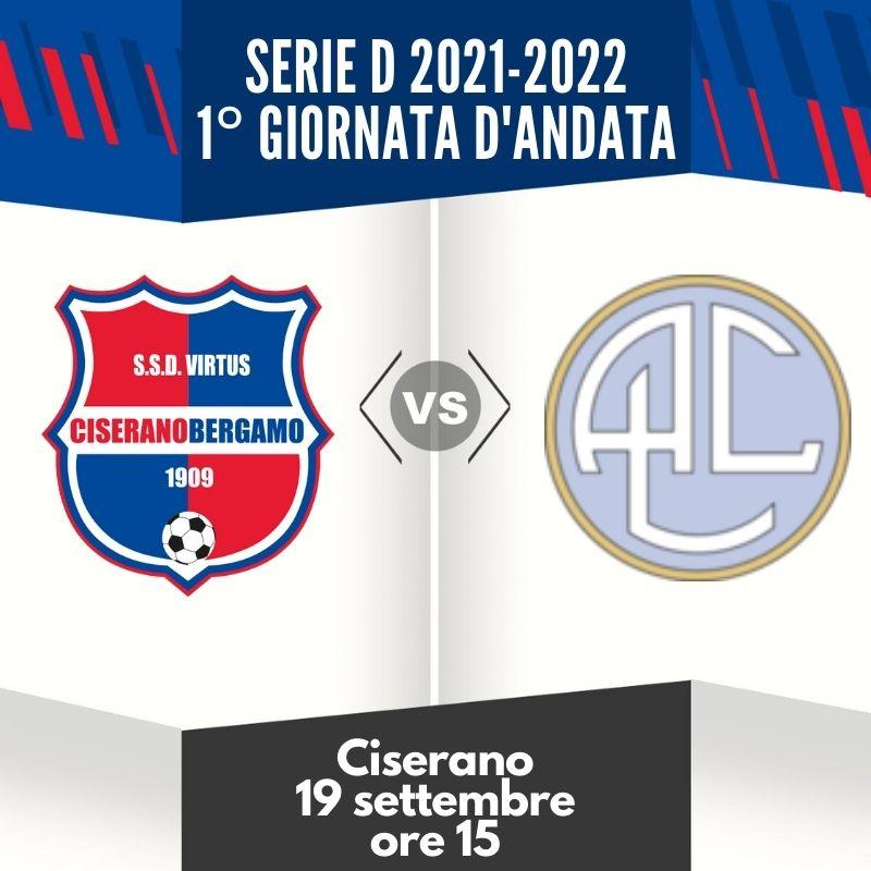 Inizia il Campionato D'Italia: al Rossoni alle 15 l'esordio della Virtus Ciserano Bergamo contro il Legnano