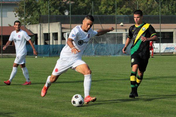 Virtus Ciserano Bergamo-City Nova 1-2: le immagini del match