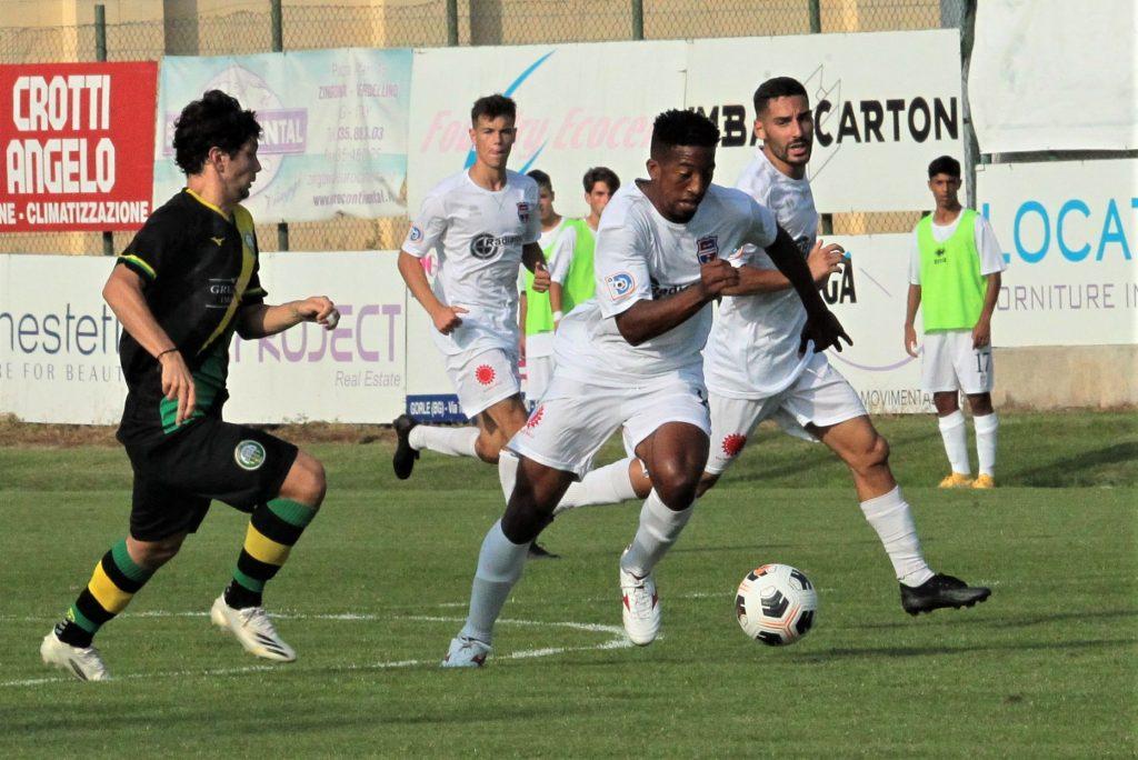 VIDEO E PHOTOGALLERY Castellanzese-Virtus Ciserano Bergamo (risultato finale 2-3): Aranotu di testa riporta in vantaggio la Virtus Ciserano