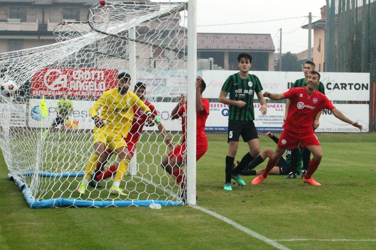Virtus Ciserano Bergamo-Vis Nova Giussano (2-1): le immagini del match